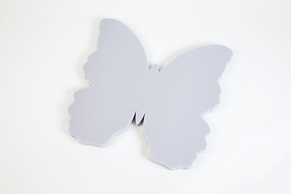 Butterfly 60 Basotect® - light gray