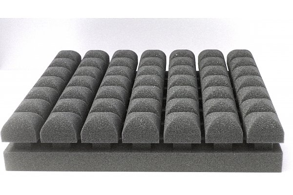Acoustic foam PUR Top Absorber