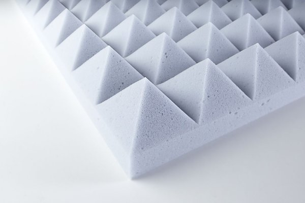 Acoustic foam Pyramid- Basotect® 50 adhesive