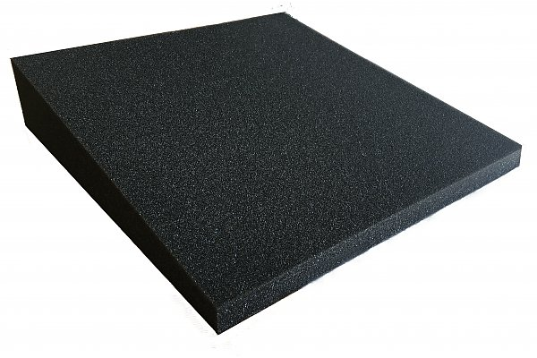 Acoustic foam PUR chok