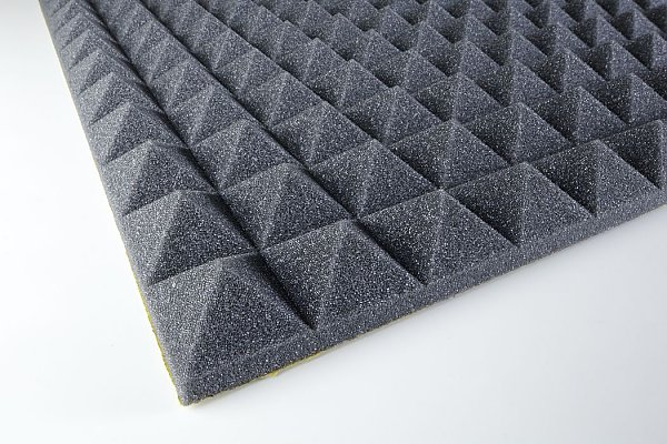 Acoustic foam Pyramid PUR 30 adhesive