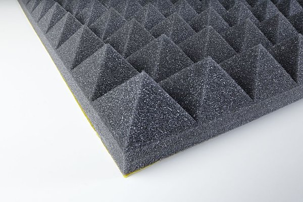 Acoustic foam Pyramid PUR 50 adhesive