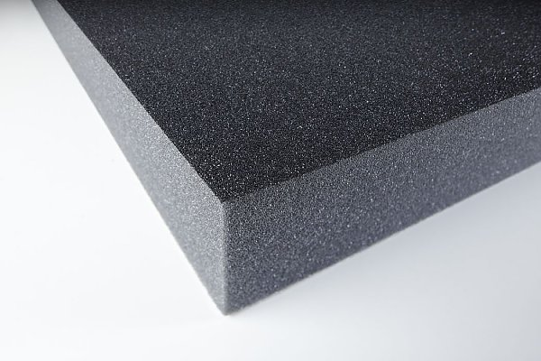 Acoustic foam with protecting skin PUR 50 adhesive