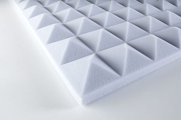 Pyramid foam Basotect