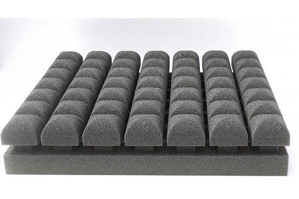 Acoustic Foam Boat : Top absorber acoustic foam pur eurokustik gmbh