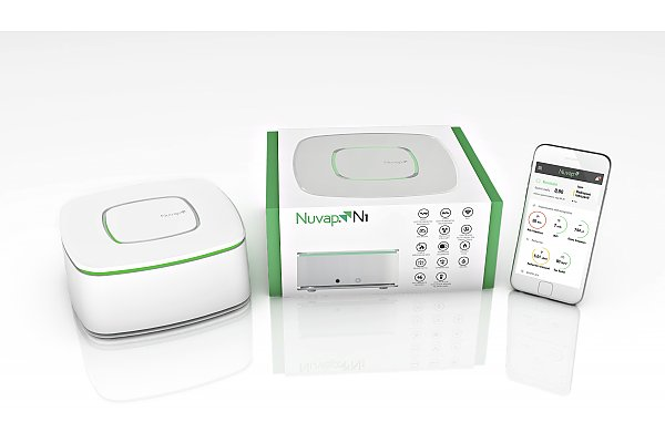 Specific device for monitoring  indoor pollution