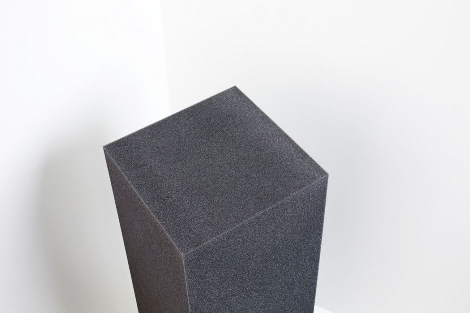 Bass Trap Cube - gray anthracite