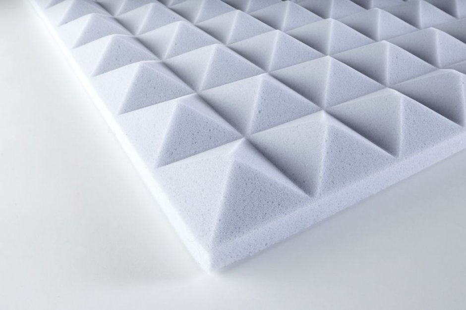 Acoustic foam Pyramid- Basotect® 30 adhesive