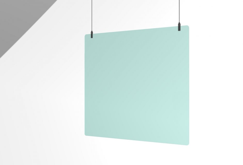 Plexiglas 600x600mm incl.steel  hanging wire