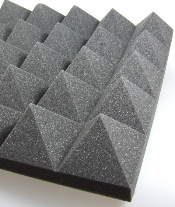 Acoustic foam Pyramid PUR 100